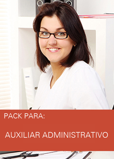 PACK AUXILIAR ADMINISTRATIVO