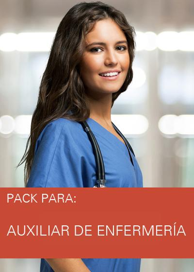 PACK AUXILIAR DE ENFERMERIA