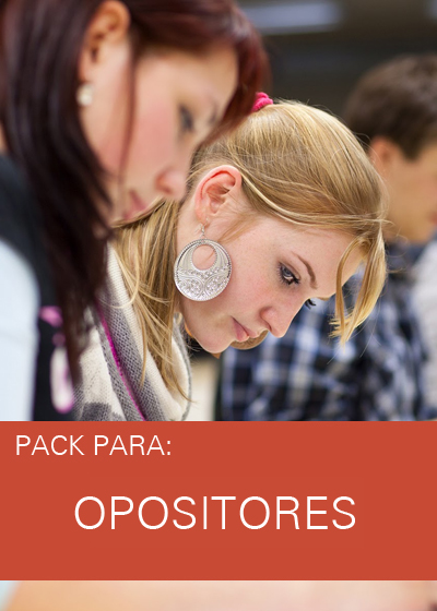 PACK OPOSITORES