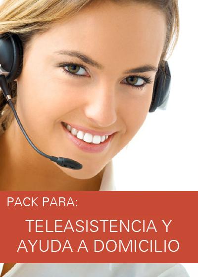 PACK TELEASISTENCIA Y AYUDA A DOMICILIO